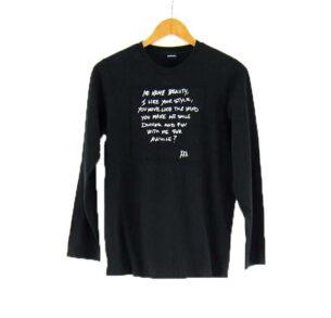 Ladies Black Vintage Diesel T shirt