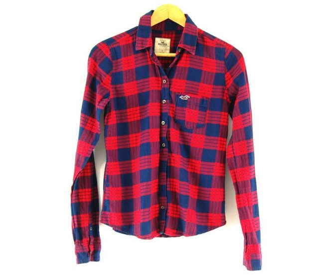 Plaid Hollister Ladies Shirt