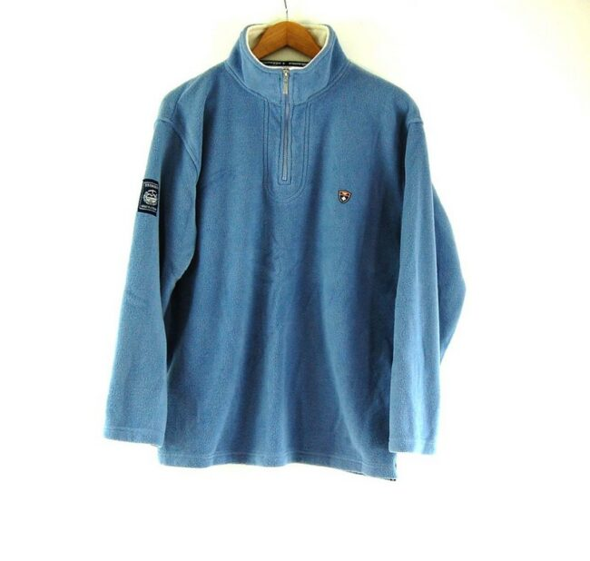 Blue Eisenegger Mens Vintage Fleece