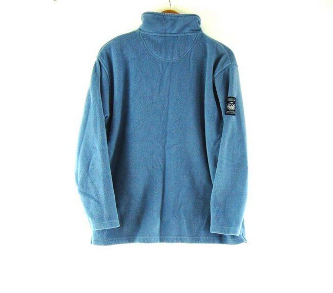 Back of Blue Eisenegger Mens Vintage Fleece