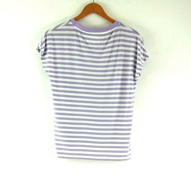 Back of Ladies Striped Tommy Hilfiger Tee