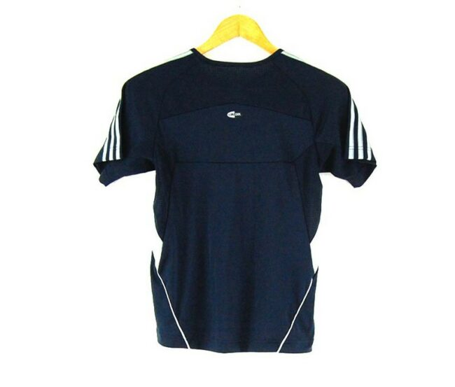 Back of Ladies Clima365 Blue Adidas Top
