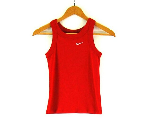Red Nike Womens Top.
