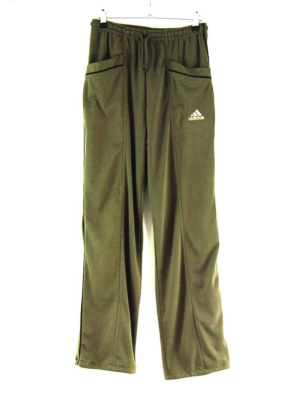 Adidas Tracksuit Bottoms in Dark Grey