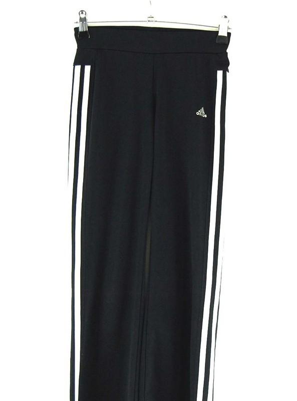 Close up of Adidas Black Leggings