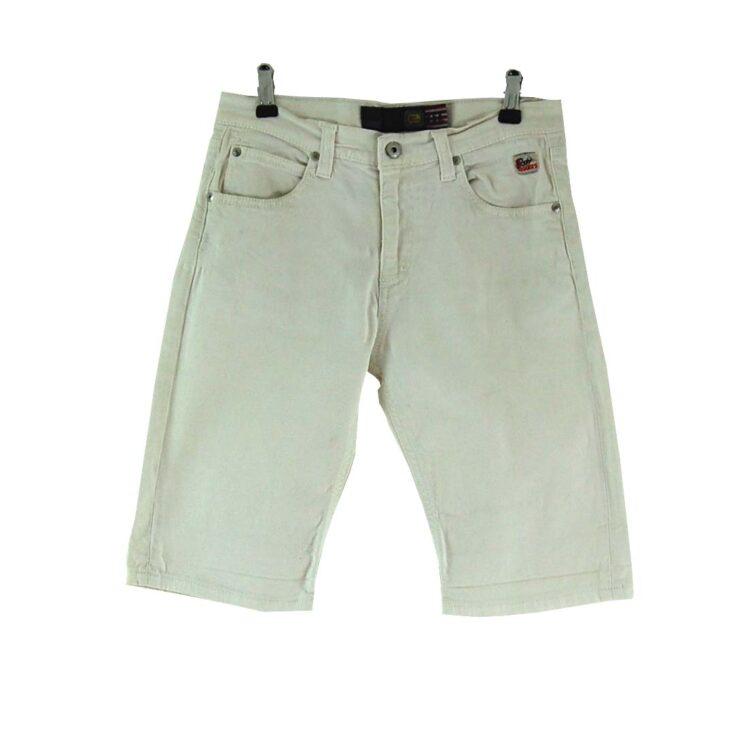 Roy Rogers White Denim Shorts