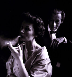 Lilli Palmer and Rex Harrison by Toni Frissell, 1950, licensed under creative commons