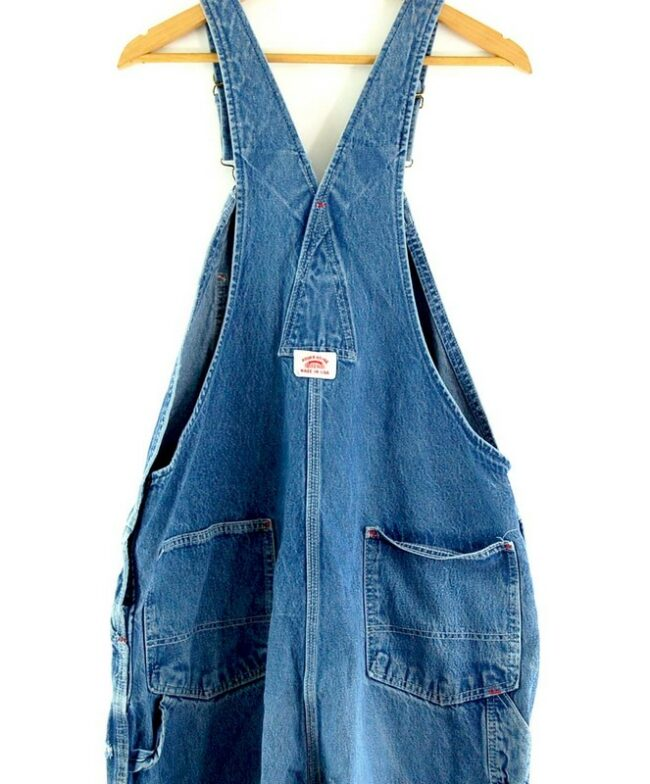Back close up of dungarees