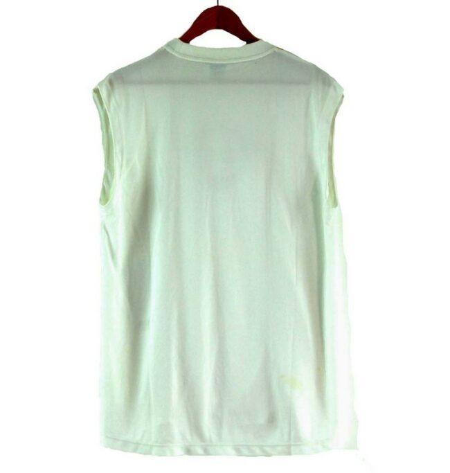 Back of Mens Nike White Vest