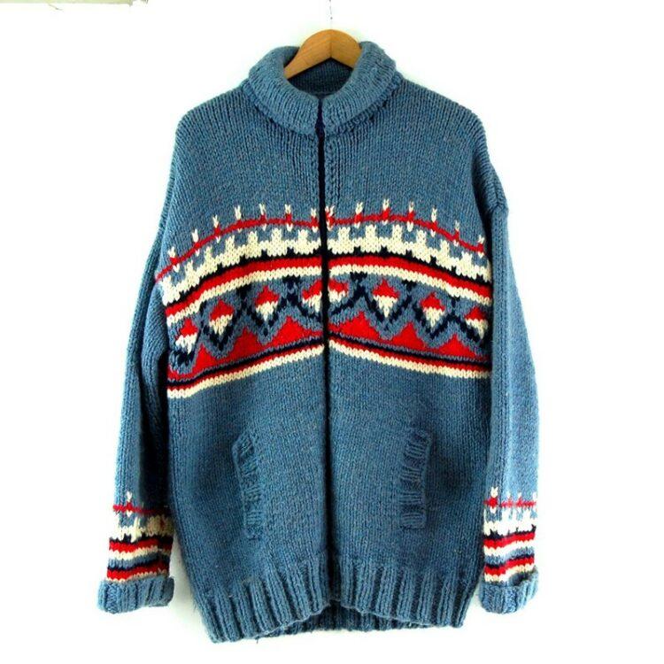 80s Vintage Cowichan Sweater