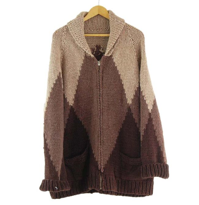 70s Mens Cowichan Sweater