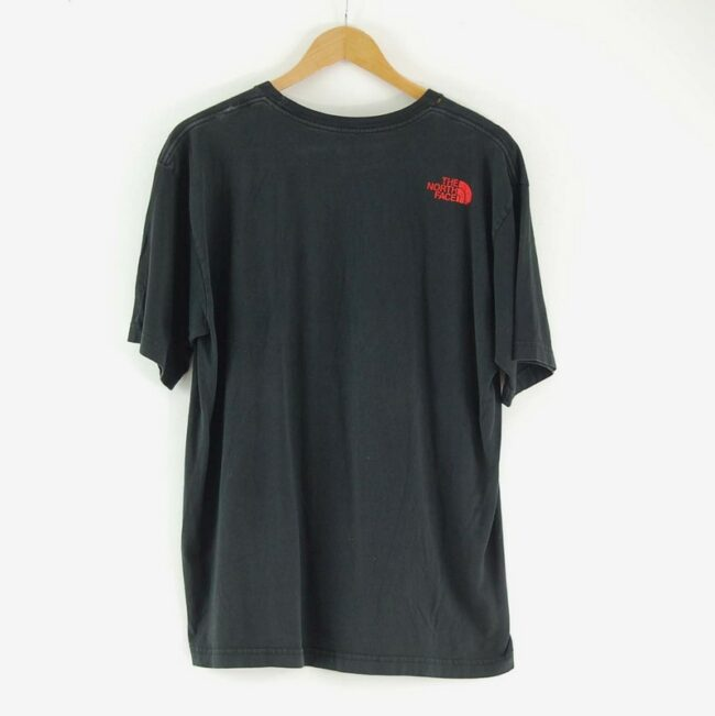 Back of The North Face Black T Shirt