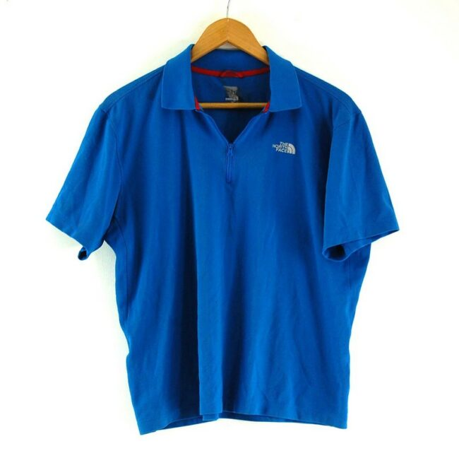 Blue The North Face Polo Shirt
