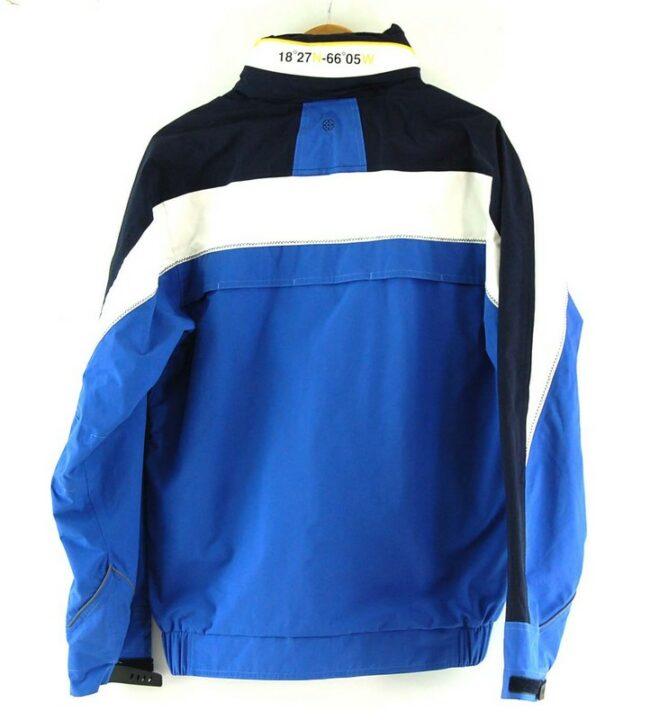 Back of Human Nature Waterproof Jacket