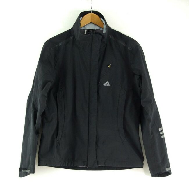 Adidas Zip Up Jacket Black