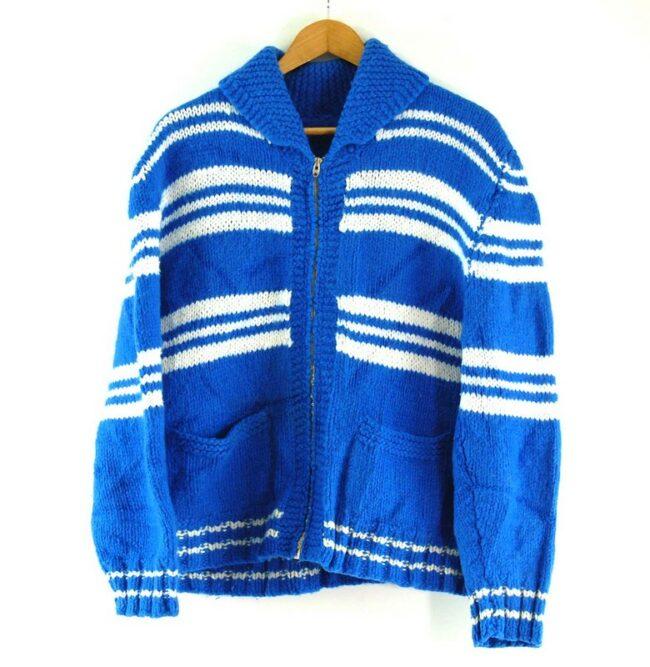 70s Striped Cowichan Sweater