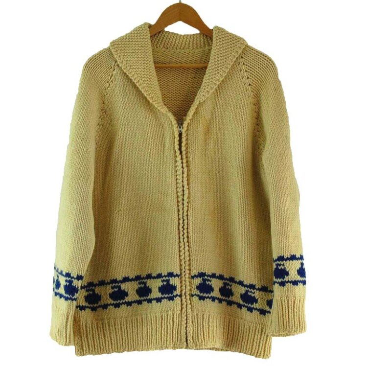 Cowichan Sweater Curling Theme