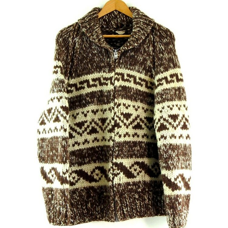 80s Traditional Cowichan Sweater