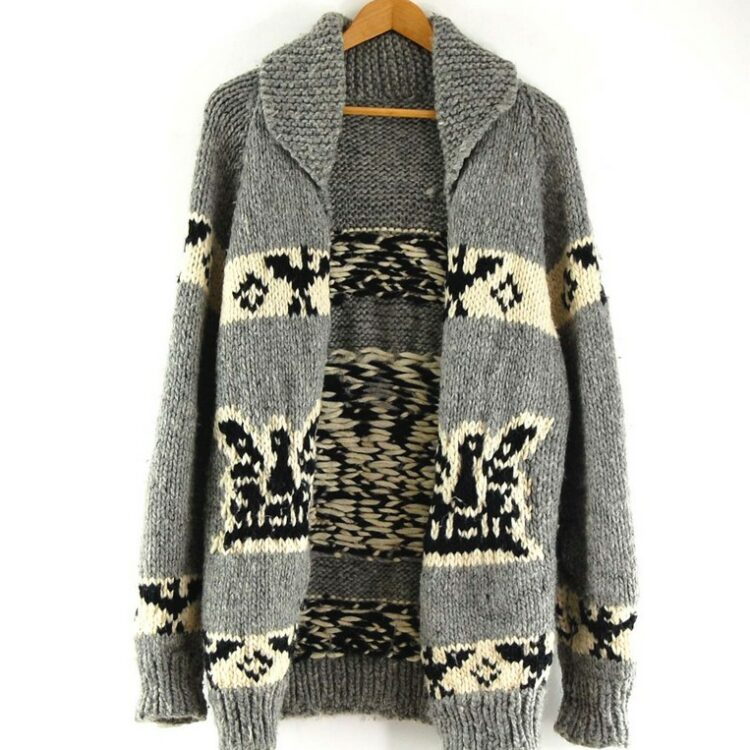 Eagle Cowichan Sweater 80s