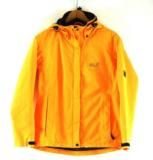 Jack Wolfskin Jacket Orange