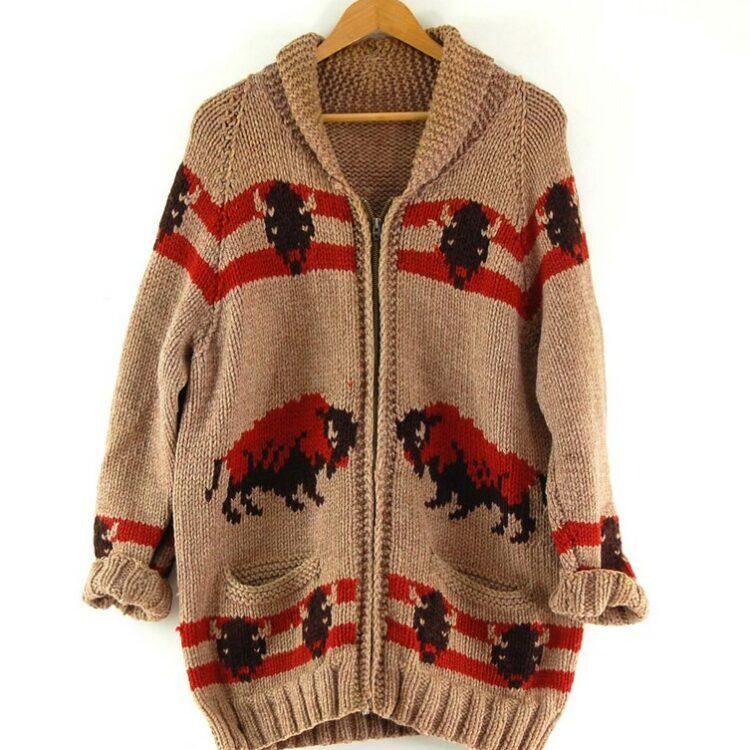 Cowichan Sweater Buffalos
