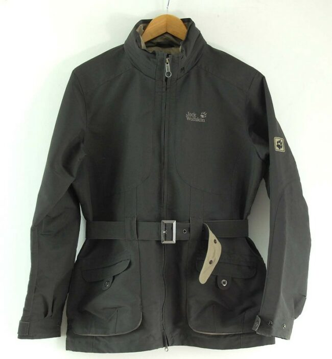 Jack Wolfskin Waterproof Jacket Grey Women