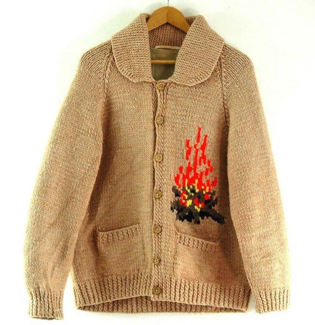 Cowichan Sweater Campfire Theme