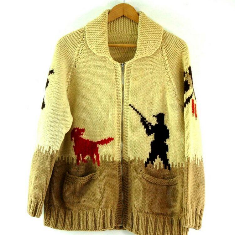 Cowichan Sweater Hunting Theme
