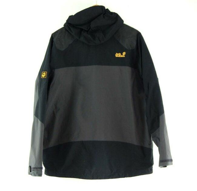 Back of Grey Jack Wolfskin Jacket