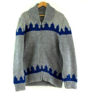 80s Mens Cowichan Sweater
