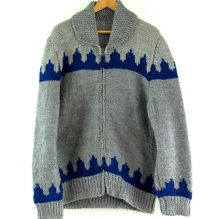 80s Mens Cowichan Sweater
