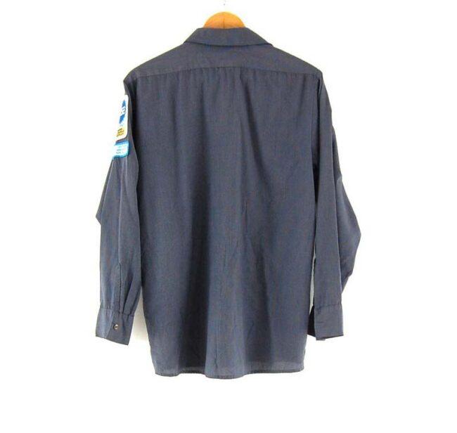 Back of Cintas Work Shirt