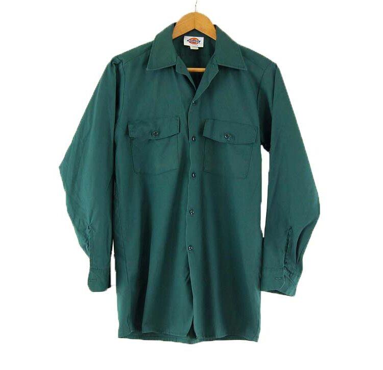 Green Dickies Work Shirt