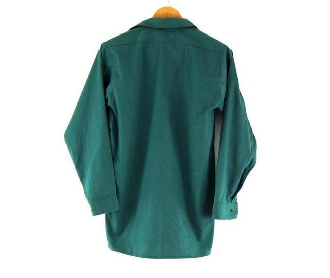 Back of Green Dickies Work Shirt