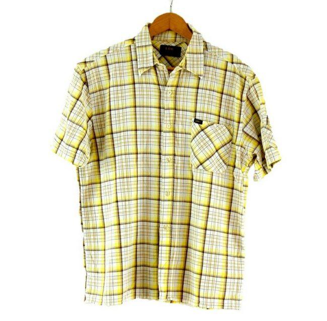 Short Sleeve Lee Check Shirt