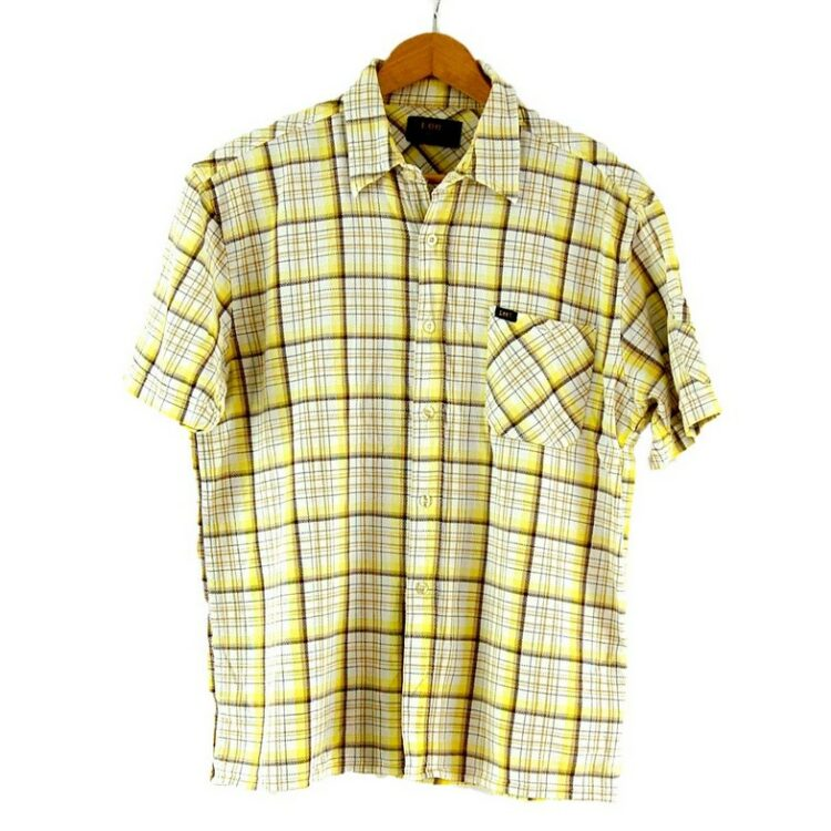 Short Sleeve Lee Check Shirt