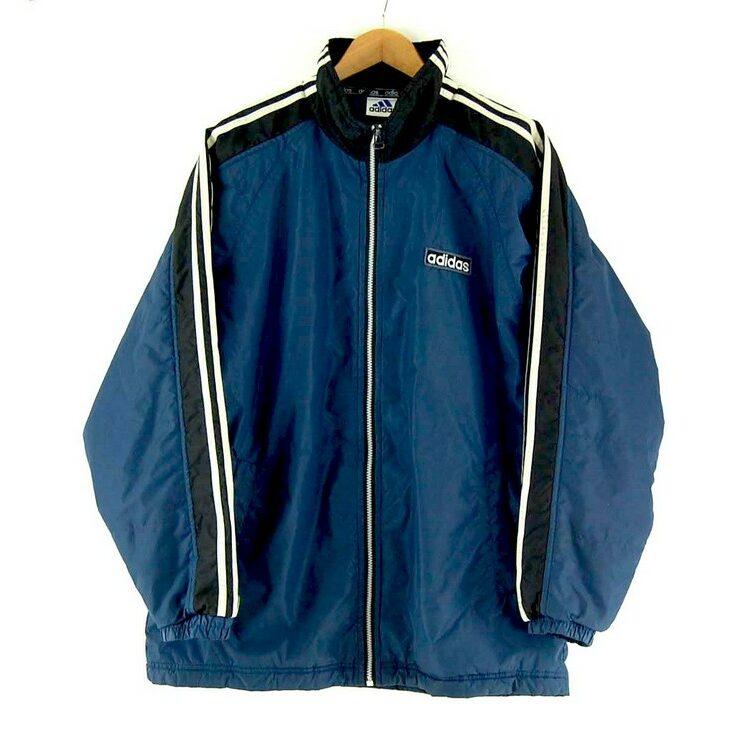 Adidas Puffa Jacket Navy Blue