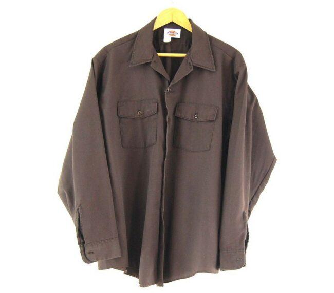 Dickies Work Shirt Brown