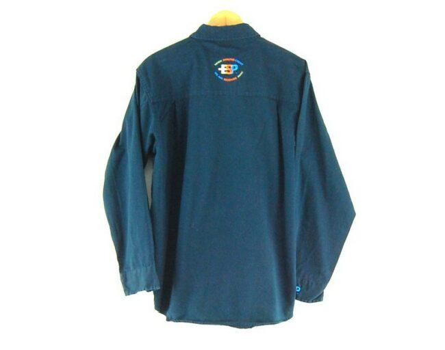 Back of ESP Work Shirt