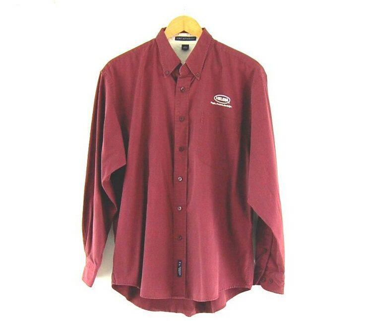 Port Authority Work Shirt Burgundy