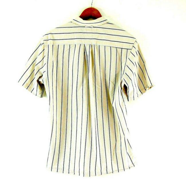 Back of Tommy Hilfiger Striped Shirt
