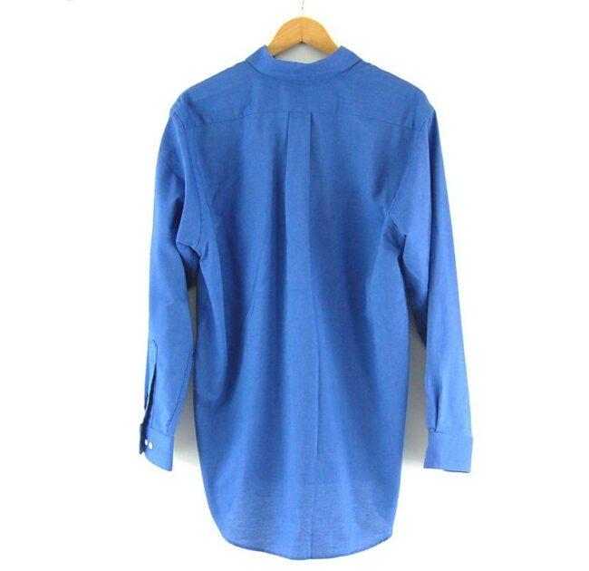 Back of Van Heusen Work Shirt