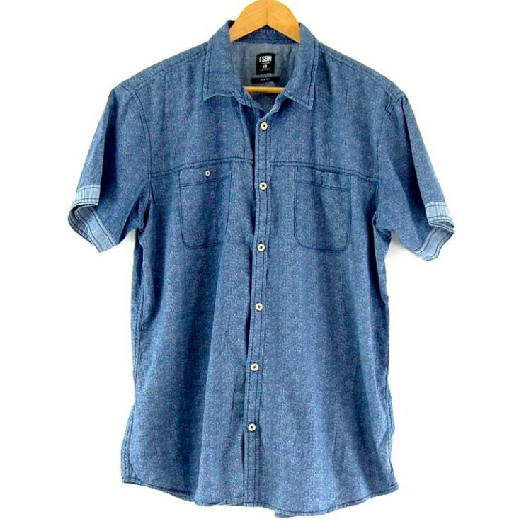 Blue Short Sleeve FSBN Shirt