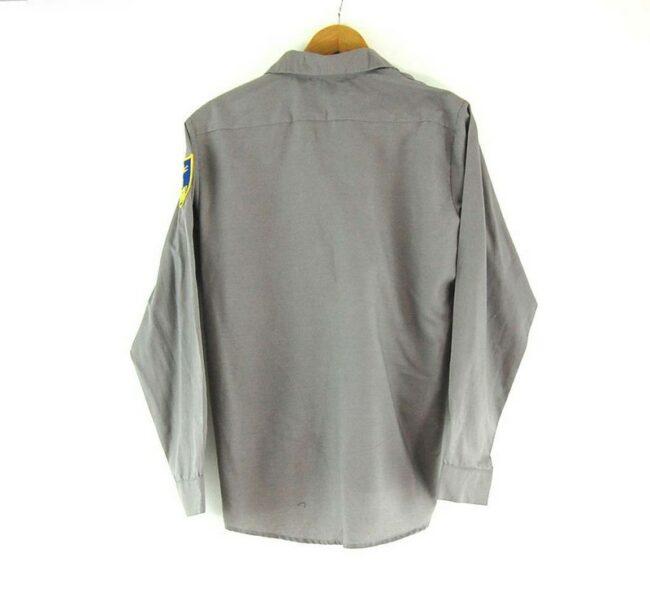 Back of Calvanist Cadet Corps Work Shirt