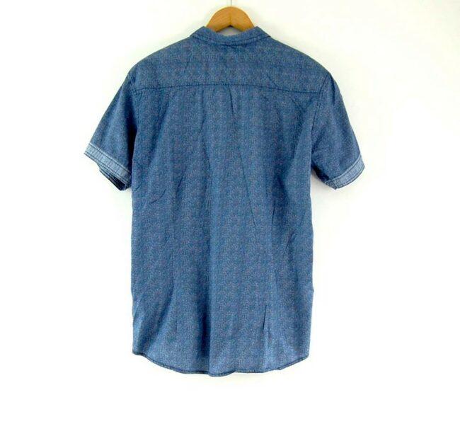 Back of Blue Short Sleeve FSBN Shirt