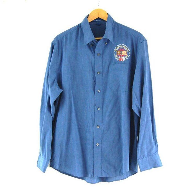 Blue Port Authority Work Shirt