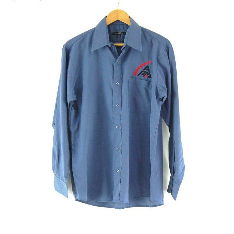 APM Blue Work Shirt