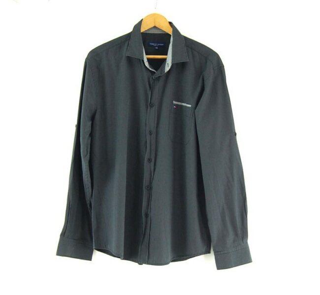 Black Tommy Hilfiger Slim Fit Shirt