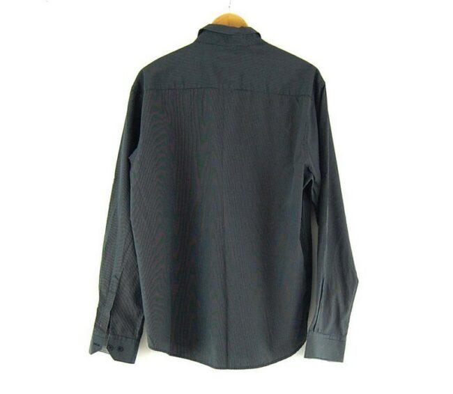 Back of Black Tommy Hilfiger Slim Fit Shirt