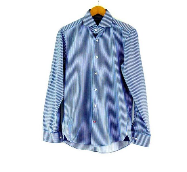 Blue Striped Tommy Hilfiger Tailored Shirt